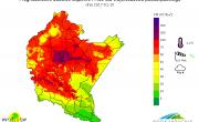 Komunikat dotyczący wysokich stężeń pyłu PM10 w powietrzu                                                 na terenie województwa