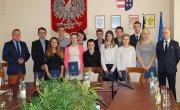 Gratulacje dla Stypendystów Powiatu Tarnobrzeskiego