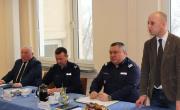 Odprawa roczna policjantów z udziałem Komendanta Wojewódzkiego Policji w Rzeszowie