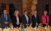 Spotkanie opłatkowe Uniwersytetu III Wieku z Gorzyc z udziałem władz Powiatu